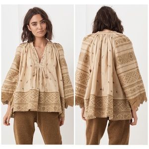 Spell & The Gypsy Muwala Embroidered Blouse